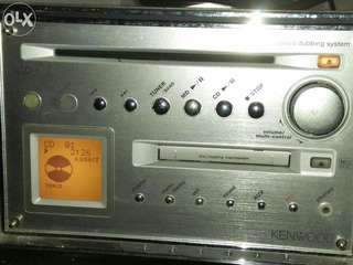 Kenwood HM-682MD Micro HiFi Component System - CD Player