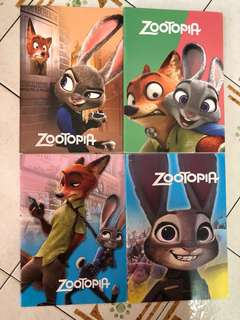 Zootopia Notebook (32 Pages)