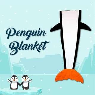 Penguin Tail Blanket (Kiddie-Adult size)