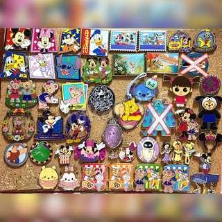 Disney pin 迪士尼 襟章 Group B
