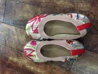 Marikina made ballet shoes for little girl