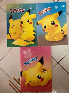 Pokemon Pikachu Notebook (32pages)