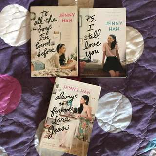 TO ALL THE BOYS I'VE LOVED BEFORE SERIES !