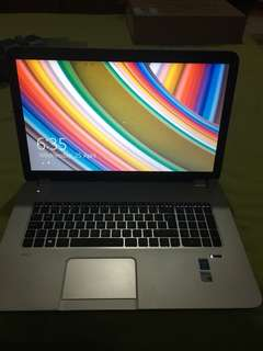 Jual laptop HP Envy 17-J073CA, 17 inch