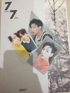 WTS FAST GOT 7for7 present edition album