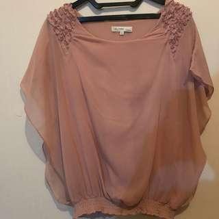Baju warna pink