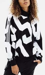 Adidas 90's turtle neck jumper