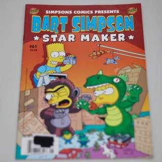 Simpsons Comics Presents Bart Simpson Star Maker #61