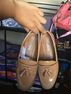 Comfit Nude Oxford Shoes