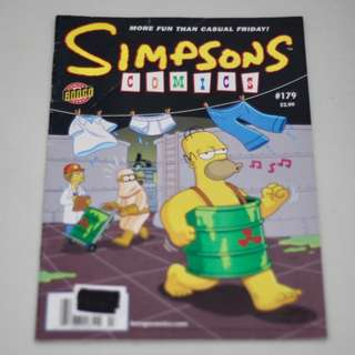 Simpsons Comics #179