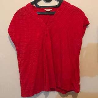 Beatrice Clothing Baju Merah