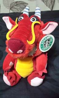 Starbucks zodiac 1st Edition Year Of the Dragon (extremely rare)