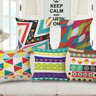 Geometry Cushion Covers
