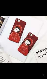 iPhone 7/8 Plus case little red head