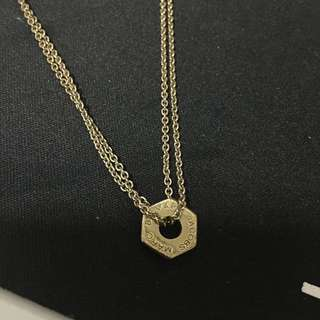 Marc Jacobs tiny bolt necklace