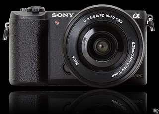 Sony A5100 with Monopod