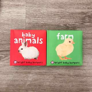 Bright Baby Bumpers: Baby Animals & Farm