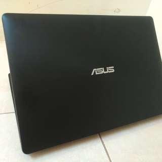 Laptop Desain asus x453 slim mulus no minus