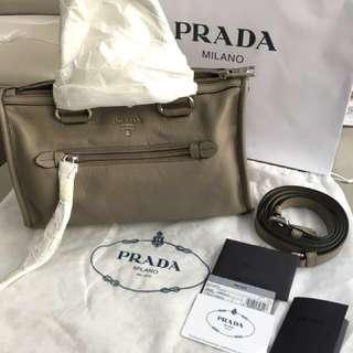 Prada grey bag