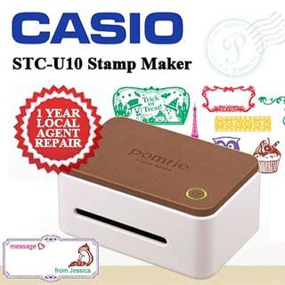Casio Pomrie Stamp Maker/ Local Warranty! Ready In Store!