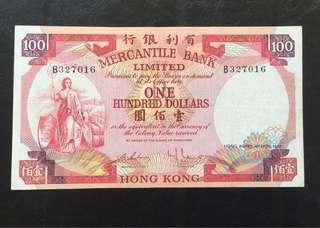 1974年 有利 $100 EF品相