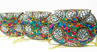 Mosaic Bag Delhi Bag Sling Bag Clutch