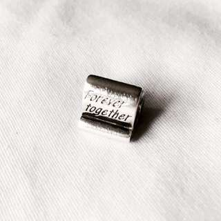 Pandora charm silver Forever together