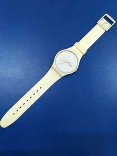 Swatch Rubber White