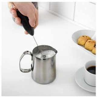 [PO370]Cordless Milk Drink Frother Handheld Foamer Whisk Mixer