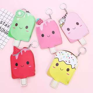 [NEW]🍦Cute Ice Cream Coin Purse for little Girls