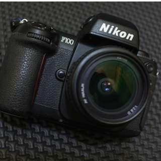 Nikon F100 Kamera Analog Film 135