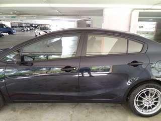 Kia cerato K3 invisible car door edge guard bumper