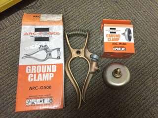 Ground Clamps, Chuck