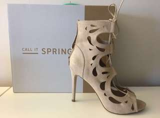 Call it Spring Heels *price lowered*