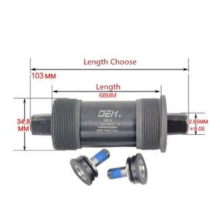 DEX Sealed Bearing Bottom Bracket 103mm for Bicycles / Fixies