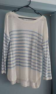 Witchery linen/light knit jumper