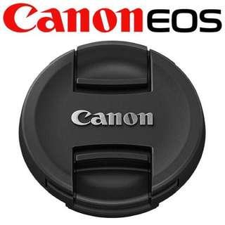 🚚 【現貨】Canon 原廠Lens Cap E-58II 內夾式鏡頭蓋 (58mm)