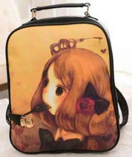 Cute Lady Backpack