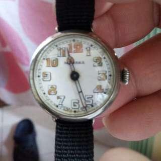 軍錶-MEDANA 1916年 古董戰壕錶