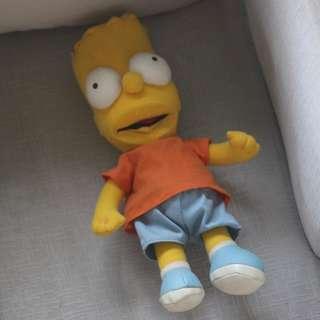 Bart Simpson Plush Doll