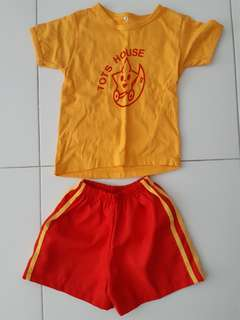 Tots House School Uniform - Size M