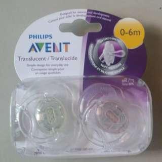 Philip Avent Pacifier(0-6m)