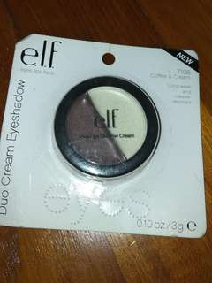 Elf duo eyeshadow cream in coffee and cream