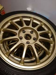 """17"""" rim with Michellin tyres"""