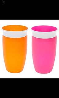 Munchkins 360 Spoutless Sippy cups 10oz