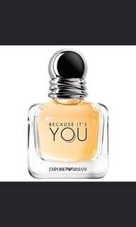 *SALE* Because Its You Emporio Armani Eau de Parfum 100ml