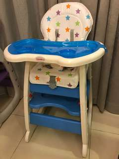 3 in 1 Baby High Chair by Mamakids