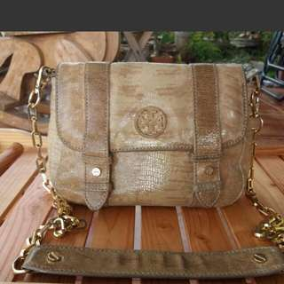 Tory Burch Gold Bag