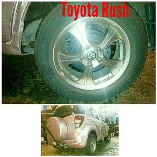 Tyre 215/65 R16 Membat on Toyota Rush 🐕 Super Offer 🙋♂️