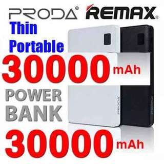 Authentic Remax Proda Note 30000mAh PowerBank with 4 Ports